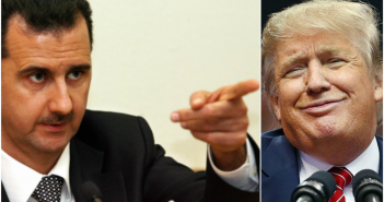 Bashar al-Assad si Donald Trump